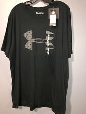 Under Armour Freedom Mens 2XL Black T-Shirt