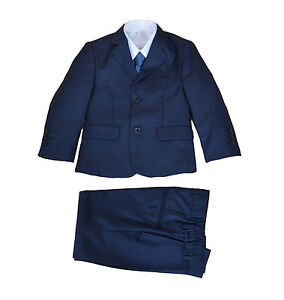 Boys Suit 5 Piece Wedding Suit Page Boy Party Prom 2 -12 Years