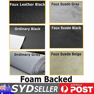 Auto SUV SE Headliner Headlining Upholstery Roof Fabric Faux Leather Suede Foam
