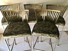 Shaver-Howard Mid Century Vintage Barstools Set Of 5 Arthur Umanoff Style