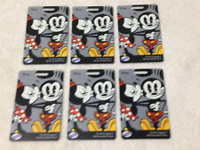 DISNEY AMERICAN TOURISTER SET OF 6 LUGGAGE TAGS  * NEW