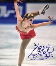 Gracie Gold USA Figure Skating Olympics Signed 8x10 Autographed Photo COA E4