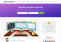 Keyword - Deals and Coupon Codes Wordpress Website with Demo Content