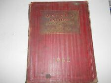 1942 MOTOR'S FACTORY FLAT RATE MANUAL & SHOP MANUAL 36 37 38 39 40 41 BUICK FORD
