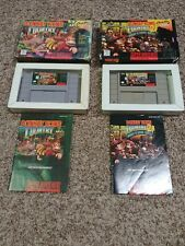 Donkey Kong Country 1 + 2  (Super Nintendo, SNES) Complete Authentic TESTED
