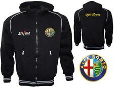 Alfa Romeo Fleece Jacket Polar Coat Veste Parka Jacke Gift Outdoor Sweatshirts