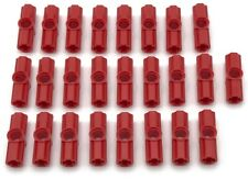 Lego 25 New Red Technic Axle and Pin Connector Straight Pieces