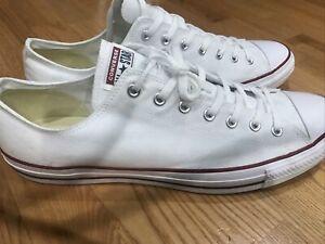 valor Espacioso flojo  Las mejores ofertas en Converse Men's Blanco 18 Talla de calzado de Hombres  EE. UU.   eBay