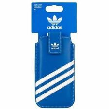 100 Genuine adidas Medium Sleeve Pouch Case Cover for iPhone 5s 5 SE 5c Blue