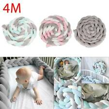 4M Baby Nestchen Geflochten Krippe Schlange Bett Nackenrolle Babynest Dekor