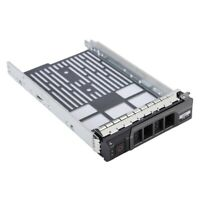 "3.5"" For Dell R410 R510 R710 R730 R720 Server SAS/SATA SSD Hard Drive Tray Caddy"