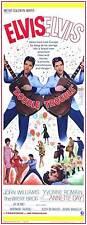 DOUBLE TROUBLE Movie POSTER 14x36 Insert Elvis Presley Annette Day John Williams