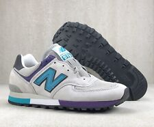 New Balance 567 OM576GPM Nineties 90's Shoes Gray Teal Purple England Mens Sz 10