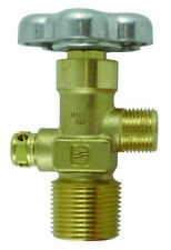 """SHERWOOD CO2 VALVE FOR STEEL TANKS - 1.0"""" NGT TAPERED THREAD"""