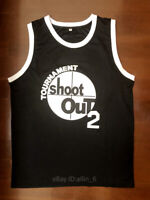 Above The Rim Shoot Out 2 Pac Men's Basketball Jersey Stitched
