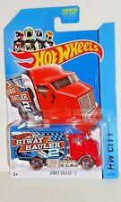 "2014 Hot Wheels City #6 HIWAY HAULER ""2"""
