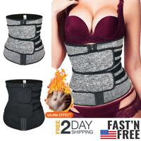 Fajas Neoprene Premium Slim Waist Trimmer Men Women Body Shaper Tummy Control US