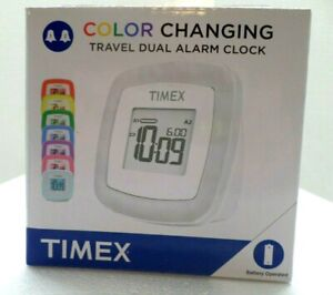 Timex Color Changing Travel Alarm Clock