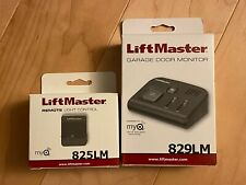 New Liftmaster Garage Door Monitor & Remote Light Control 829Lm 825Lm MyQ $80