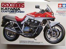 "Tamiya 1:12 Scale Suzuki GSX1100S Katana ""Custom Tuned"" Model Kit - New # 14065"