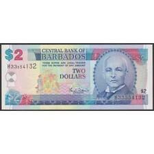 TWN - BARBADOS 60 - 2 Dollars 2000 UNC Prefix H33 - Signature: Williams