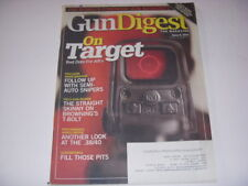 GUN DIGEST Magazine, JUNE 6, 2011, BROWNING'S T-BOLT, .38/40, SEMI-AUTO SNIPERS!