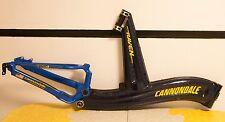 Cannondale Raven Super V 2000 SL Carbon Fiber Frame Headset Handlebar Seat Post