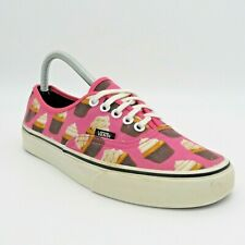 Women's Vans Cupcakes Trainers Pink Size 6.5 UK 40 Eur