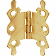 20 X Brass Plated Butterfly Hinge 40mm NEW