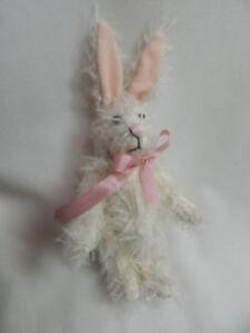 "World Of Miniature Bears By Theresa Yang 5"" Easter Bunny Rabbit #5070W CLOSING"