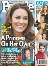 People magazine Kate Middleton Prince William Oscars Rihanna and Chris Brown