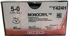 MONOCRYL 5-0 Y424H CE-WARE NEU+OVP - Verfallsdatum 01/2024 - Consegna in Italia