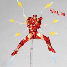 Amazing Yamaguchi Revoltech No.013 Iron Man Bleeding edge Armor Action Figure