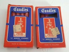 15 Candles for Swedish Angel Chimes Carousel Chimes Made in Holland Vintage