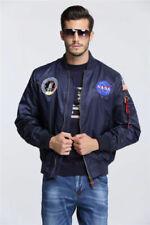New US NASA MA1 Flight Bomber Jacket Baseball Coat Thin Coat Jack