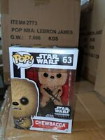 Funko POP! Star Wars Smuggler's Bounty Figure - CHEWBACCA (Flocked) #63