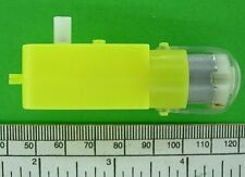Motor-Gearbox in line type, 3 to 6 volt d.c. operation
