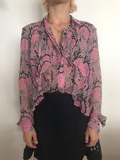 Christopher Kane Silk Blouse 8 / EU36 USA 4 Stunning designer Netaporter