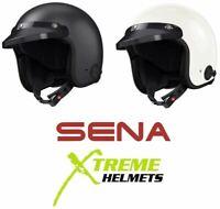 Sena Savage Helmet Open Face Bluetooth Built-in Mic Speaker ECE XS-2XL