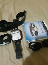 Garmin Forerunner 305 GPS Sport Watch w/Charging Cradle Tested *FREE SHIPPING*