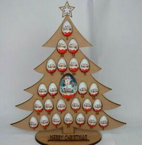 KINDER EGG & BIG EGG CHOCOLATE TREE- UNIQUE GIFT - XMAS, EASTER & BIRTHDAYS