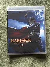 Free*Postage New Space Pirate Harlock 3D + 2D blu Ray Captain Shinji Aramaki