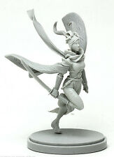 WARRIOR OF THE SUN female - KINGDOM DEATH figurine miniature résine resin jdr
