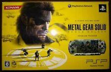 METAL GEAR SOLID PEACE WALKER Premium package PSP-3000 KONAMI