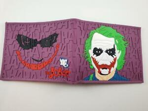 The Joker Wallet PVC Batman Heath Ledger The dark Knight DC Comics Arkham