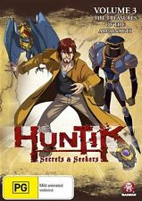 Huntik, Secrets and Seekers: Vol 3 - The Treasures of the Argonauts NEW R4 DVD
