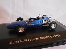 ALPINE A 340  FORMULE FRANCE DE 1969