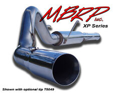 """MBRP 04.5-07 Dodge Ram  4"""" Cat Back,Single Side Exit Exhaust System T409 SS"""