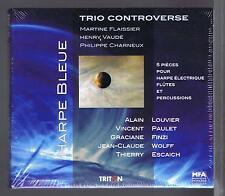 TRIO CONTROVERSE CD NEW PIECES POUR HARPE ELECTRIQUE & PERCUSSIONS