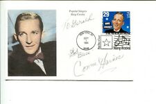 Connie Haines Jazz Big Band Singer Signed Autograph FDC
